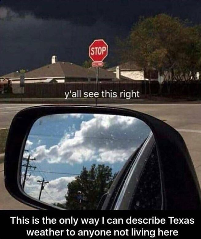 How we explain what the weather is like in TX